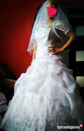 AKTUALNE.  Sprzedam suknię ślubną