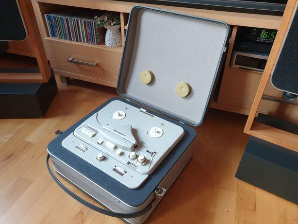 Magnetofon Szpulowy AEG Telefunken 85 - wzmacniacz lampowy, jak nowy !