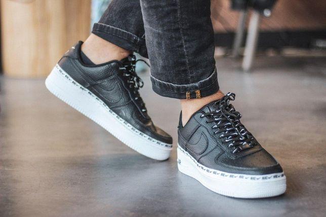 Кроссовки Nike Air Force 1 Low Black/White (Мужские/Женские)