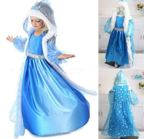 Платье Эльзы с накидкой