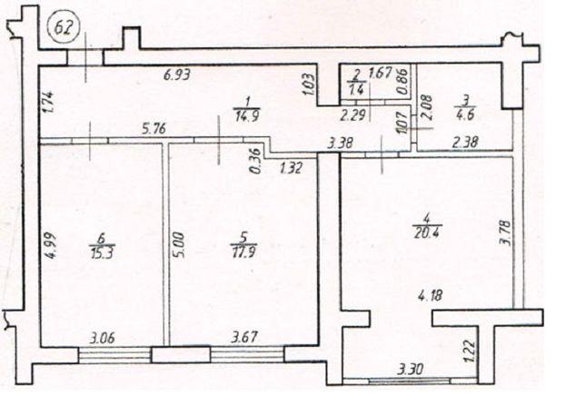 Велика ЗДАНА 2 кім квартира з можливістю розтермінування на 36 місяців