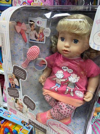 Интерактивная Кукла Baby Annabell - Повторюшка Джулия. Zapf Creation