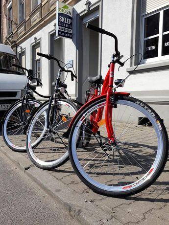Rower Damka damski koło 26 cali tani jedno biegowy Miejski Polski