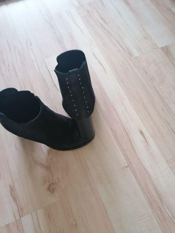 Buty skórzane r37