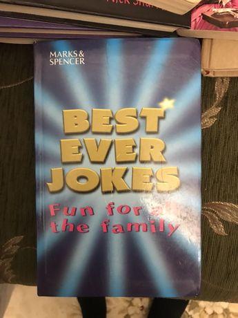 Книга на английском Best Ever Jokes бренда Marks&Spencer