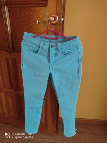 Spodnie jeansy Mac róż 38