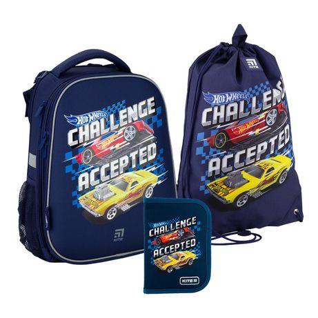 Набір рюкзак + пенал + сумка Kite Education Hot Wheels SET HW20-531M
