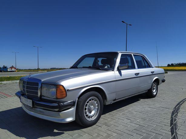 Mercedes Benz W123 2.5 Benz+Gaz 1977r. Stan dobry Zamiana