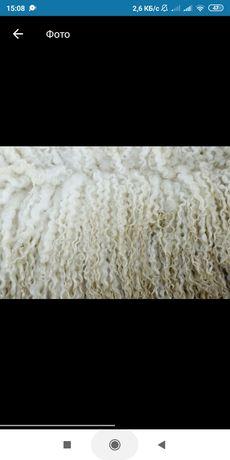Натуральная овечья шерсть продам шерсть
