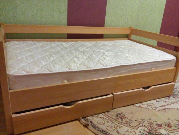 Ліжко підліткове довж.1.70 см,шир.0.88 см