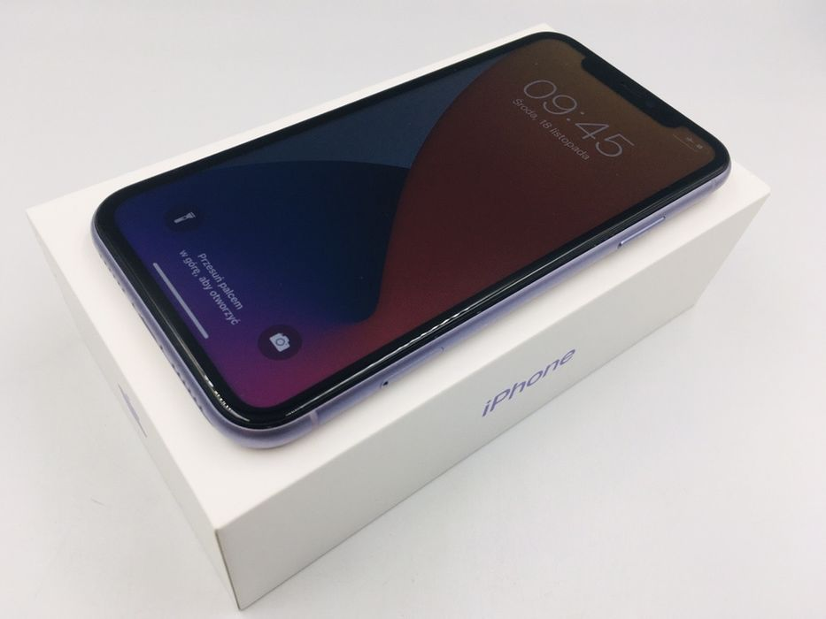 iPhone 11 64GB PURPLE • PROMOCJA • GWARANCJA 1 MSC • AppleCentrum Wrocław - image 1