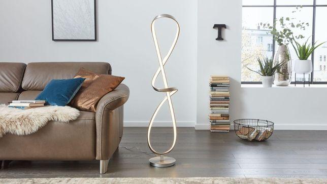 Nowość 2020 lampa stojąca INTERLIVING 9318 fale łuki wstążka podłogowa