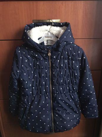 Курточка для дівчинки розмір 116