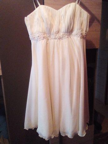 Sukienka ślubna ciążowa