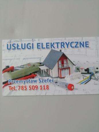 Elektryk z uprawnieniami.