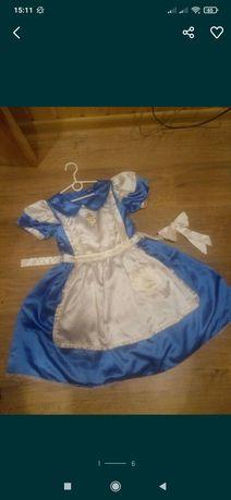 Платье алиса в стране чудес дисней 5-8 лет