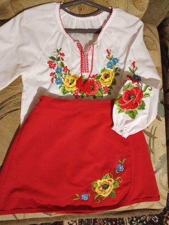 Блуза и юбка украинские