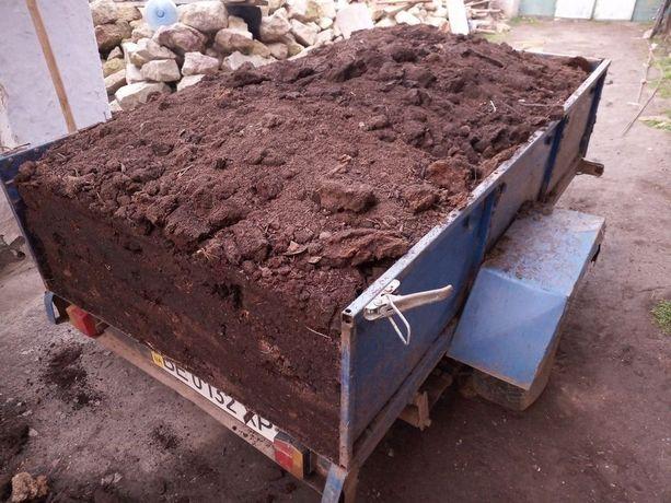 Перегной, сыпец, навоз, удобрение, чернозем, глина