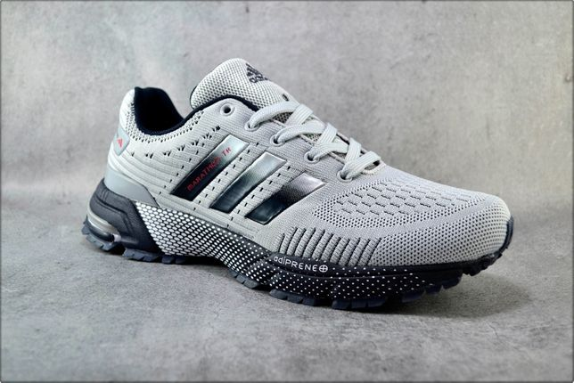 Мужские кроссовки Adidas Marathon Gray, Спортивные кроссовки