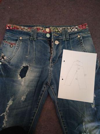 Штаны бойфренды, юбка джинс