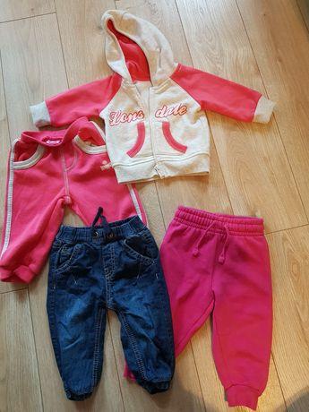 Duża paczka ubrań dla dziecka- rozmiary 62 - 68 - nowe i używane