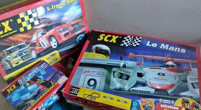 2 Pistas Scalextric Le mans & X-Treme Rally