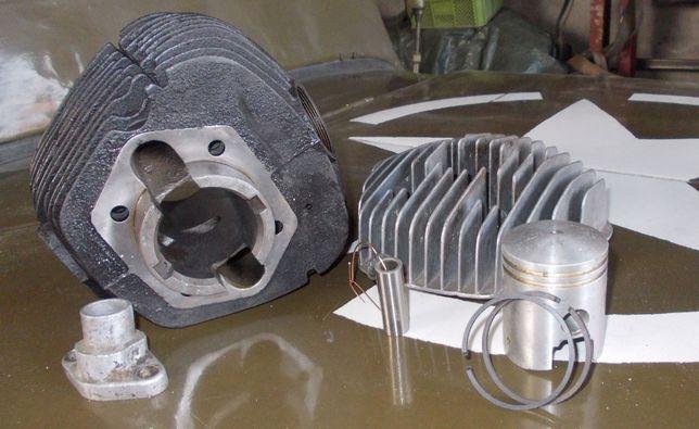 SIlnik S 34 WFM 125 ccm cylinder tłok po szlifie nowa głowica