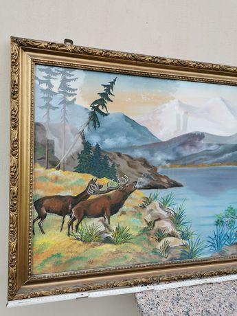 Stary obraz malowany