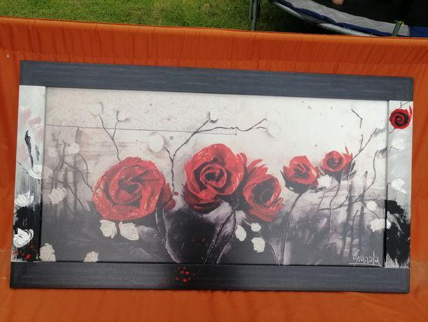 Obraz firmy ARS Longa ręcznie malowana rama