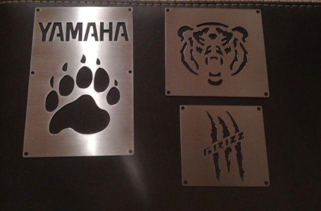 Nakładki na błotniki Yamaha Grizzly