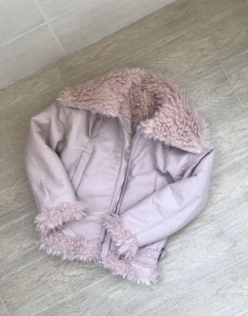 Очень теплая куртка авиатор