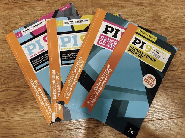 Pi9 Matemática 9.º ano - Manual e Caderno de atividades