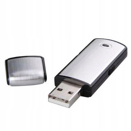DYKTAFON cyfrowy PODSŁUCH 16GB Pendrive detekcja VOX