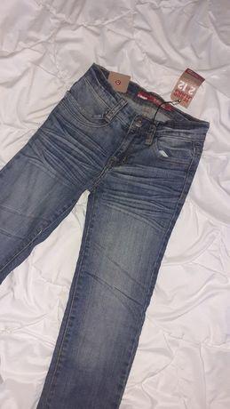 Spodnie jeansowe jeansy 5 6 7 lat 118 122 NOWE