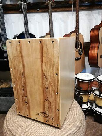 ArsNova WL502R cajon + pokrowiec Rotten Wood kahon perkusja