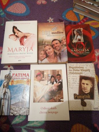 Książki religia modlitwy