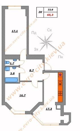 Продам без комиссии 2-х ЖК София Сити дом заселен с документами