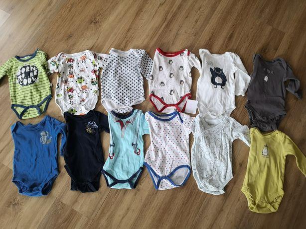 Body niemowlęce z długim rękawem rozmiar 62/68