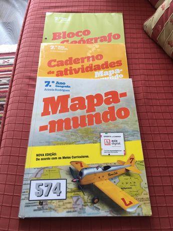 Manual Mapa Mundo  7 ano