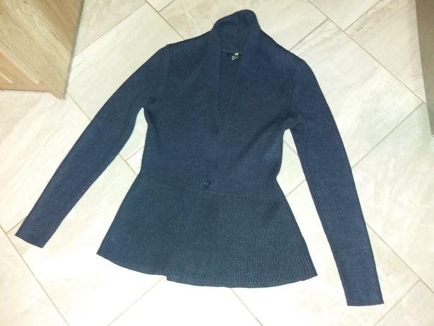 sweter damski S  granatowy