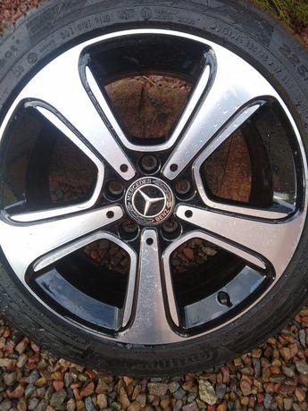 Koła Mercedes 17'' 5x112 225/45/17 super opony!
