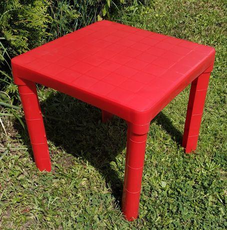 Składany stolik ogrodowy dla dzieci. Możliwy dowóz.