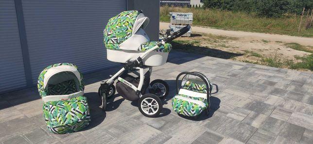 Wózek 3w1 Tropical , gondola,spacerówka, nosidełko