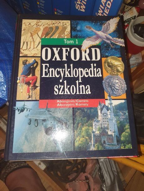 Oxford Encyklopedia szkolna Tom 1