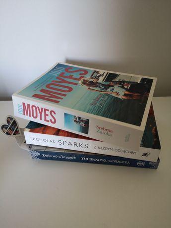 Książki moyes sparks moggach