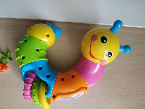 Развивающая игрушка веселая гусеница Limo Toy 6+