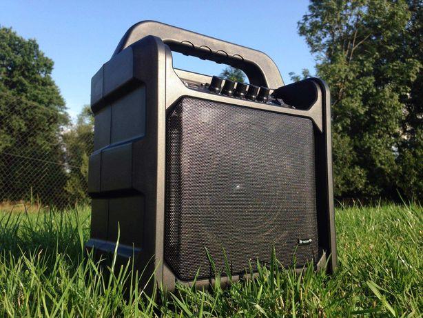 Wieża Radio FM Głośnik BLUETOOTH Karaoke Kolumna Boombox Budowlane MP3