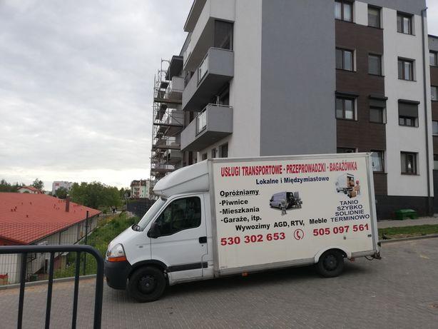 Transport Przeprowadzki i Opróżnianie Mieszkań Piwnic Garaży
