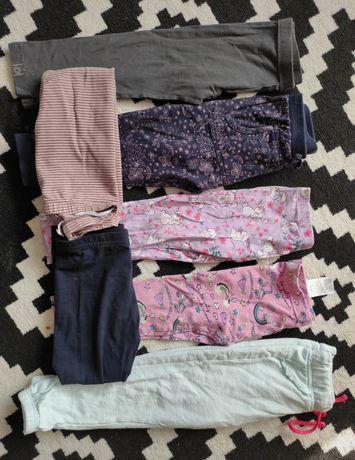 Leginsy spodnie dziewczęce
