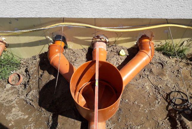 przyłącze kanalizacji, instalacja kanalizacyjna, naprawa kanalizacji